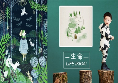Life • Secret Forest -- 19/20 A/W Pattern Trend for Kidswear
