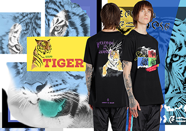 Tiger -- 2020 S/S Pattern Trend for Menswear