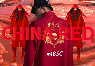 China Red -- 19/20 A/W Color Trend for Menswear