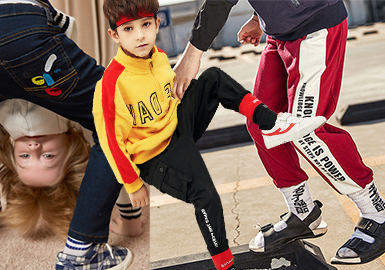 Boys' Trousers -- 18/19 A/W Brands of Kidswear