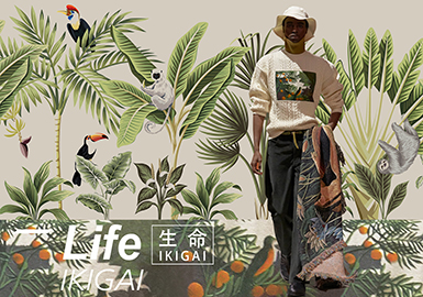 Life•IKIGAI -- 19/20 A/W Pattern Trend for Menswear