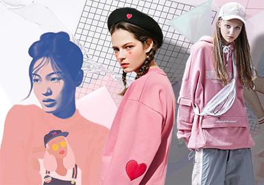 Pink Age -- 18/19 A/W Women's Sweatshirt