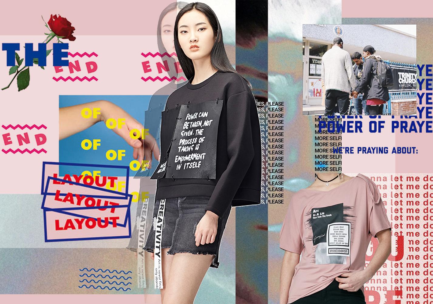 Funky Letter -- 19/20 A/W Pattern Trend for Womenswear