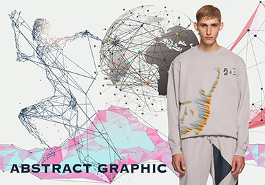 Abstract Graphic -- 19/20 A/W Pattern Trend for Menswear