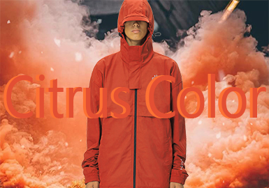 Citrus Color -- 19/20 A/W Color Trend for Menswear