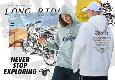 Racing -- 2020 S/S  Pattern Trend for Menswear