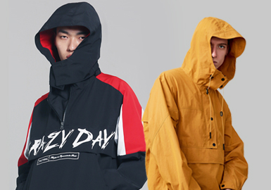 Anorak -- 2020 S/S Silhouette Trend for Menswear