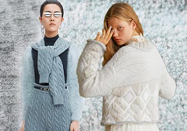 Warm Touch -- 19/20 A/W Yarn Trend for Women's Knitwear