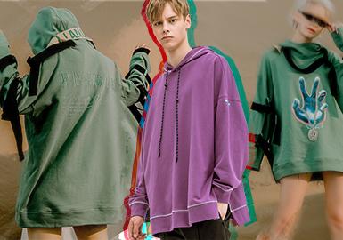 Funky Sweatshirt -- 2020 S/S Silhouette Trend for Menswear