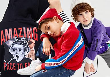 Boys' Sweatshirt -- 18/19 A/W Kidswear Benchmark Brand