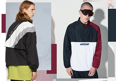 Retro Sports Jacket -- 2020 S/S Clothing Collocation for Menswear