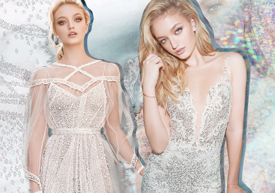 Sparkling Sequin -- 2020 S/S Women's Wedding Dress