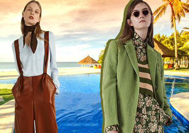 Global Traveler -- 2019 S/S Color Trend Confirmation for Womenswear