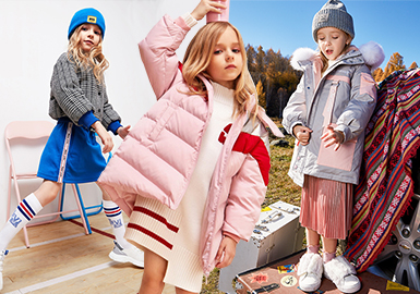 Puffer Coat -- 18/19 A/W Benchmark Brand for Girls' Apparel