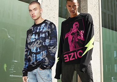 Diesel -- 18/19 A/W Benchmark Brand of Men's Knitwear