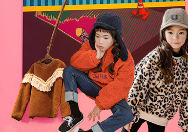 Sweatshirt -- 18/19 A/W Girls' Apparel in Korean Market