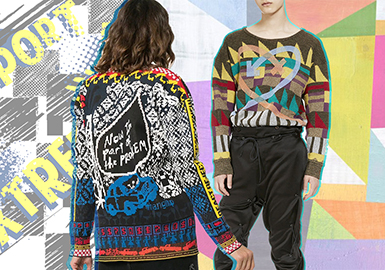 Maximalism -- Resort 2020 Pattern Trend for Women's Knitwear