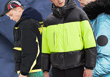 Stylish & Protective -- 19/20 A/W Material for Men's Puffa