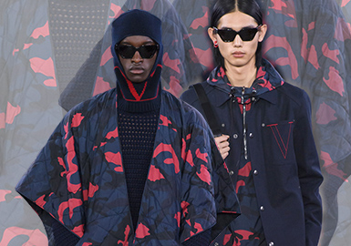 Valentino -- 19/20 A/W Brand Analysis of Menswear Trunk Show