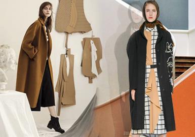 Simple & Elegant -- 19/20 A/W Brand for Women's Overcoat