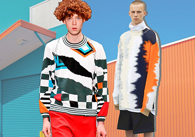 Retro Sport -- Resort 2020 Clothing Collocation of Men's Knitwear