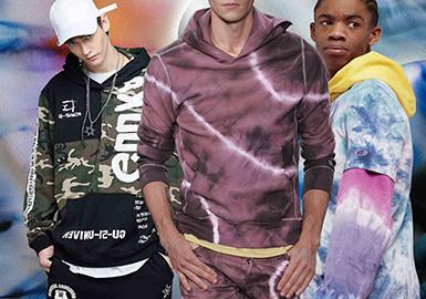 Funky Sweatshirt -- 2020 S/S Men's Knitted Fabric