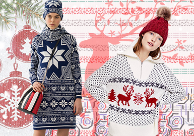 Cozy Christmas -- 19/20 A/W Pattern Trend for Women's Knitwear