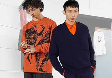 Etudes -- 18/19 A/W Designer Brand for Men's Knitwear
