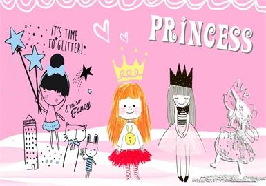 Princess -- 2020 S/S Pattern Trend for Kidswear