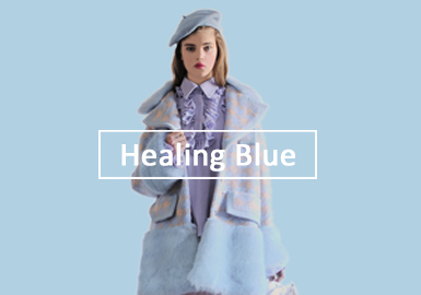 Healing Blue -- 2020 S/S Color Trend for Women's Fur & Leather
