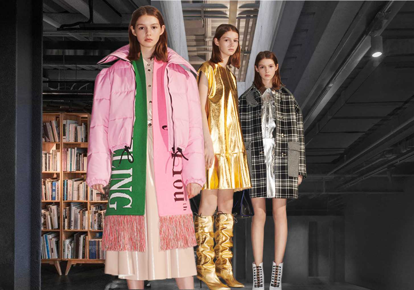 MSGM -- 19/20 A/W Womenswear at Trunk Show