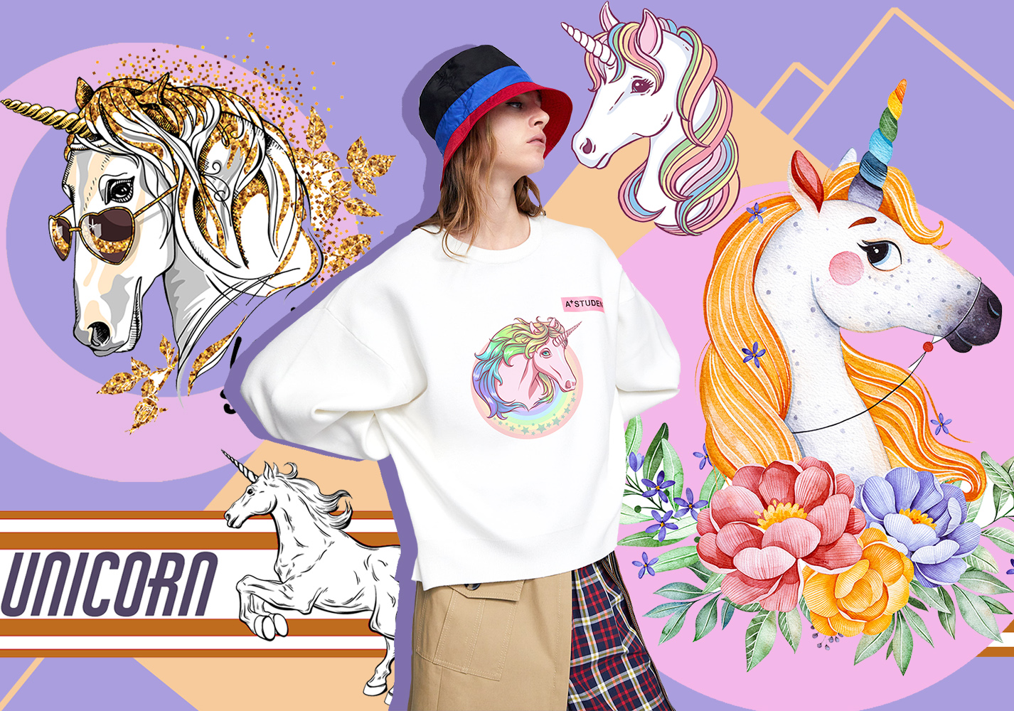 Fantastic Unicorn -- 2020 S/S Pattern Trend for Womenswear