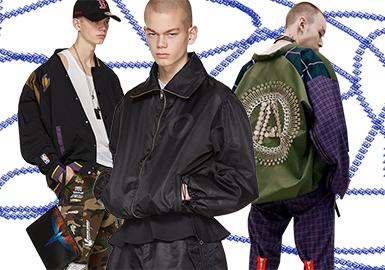 Stylish Bomber Jacket -- 2020 S/S Men's Clothing Collocation