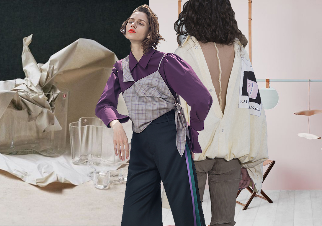 Cotton&Linen Apparel -- 2020 S/S Fabric Trend for Womenswear