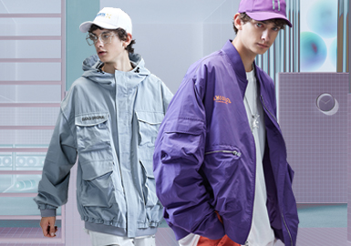 Multi-pocket Jacket -- 2020 S/S Silhouette Trend for Menswear