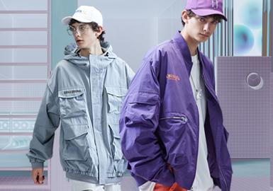 Multi-pocket Jacket -- 2020 S/S Silhouette Trend for Menswear