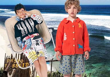 Shorts -- 2020 S/S Silhouette Trend of Kidswear
