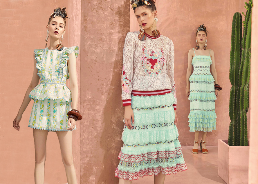 Disaya — 2019 S/S Analysis of Designer Brands of Womenswear