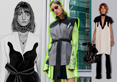 Modern High Street -- 2020 S/S Designer Brand Analysis of Womenswear