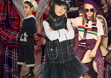 Preppy Style -- 2020 S/S Clothing Collocation for Kidswear
