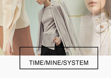 Futuristic Modernity -- 18/19 A/W Analysis of Benchmark Brands of Women's Knitwear