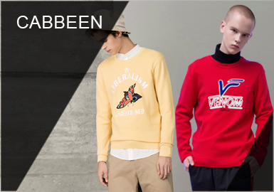 Cabbeen -- 2019 S/S Recommendation of Designer Brand of Men's Knitwear