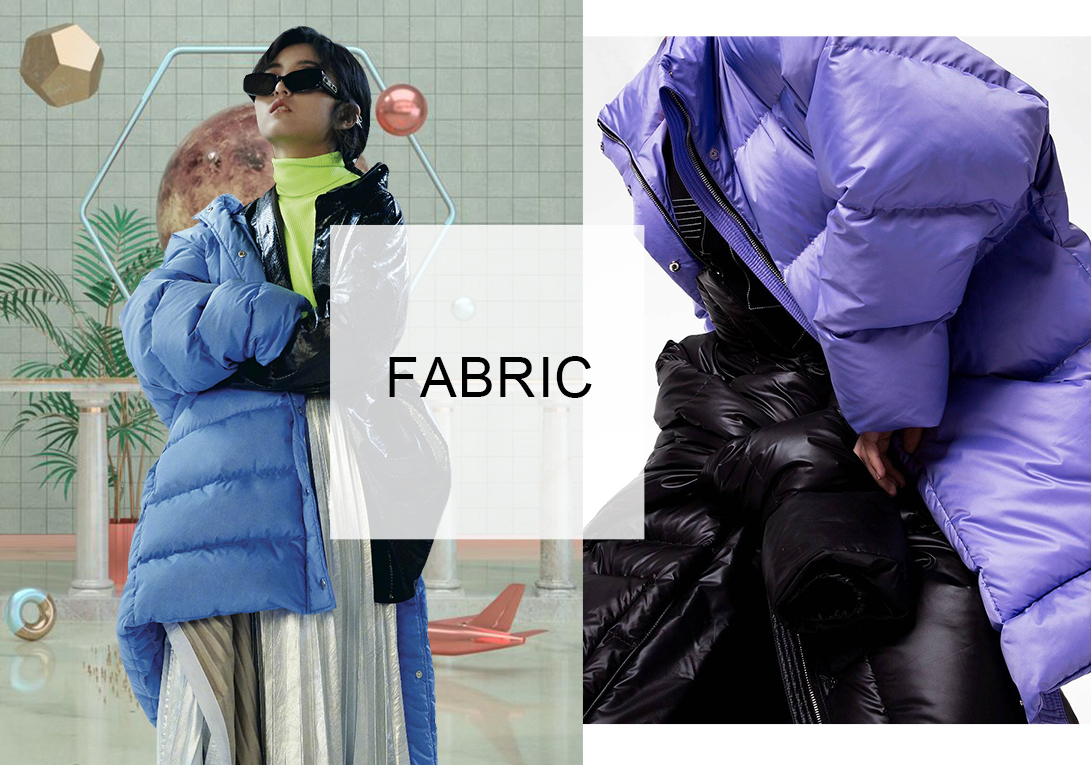 Technical&Fashionable -- Fabric Trend for Women's Puffas