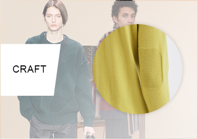 Business Wool -- 20/21 A/W Craft Trend for Men's Knitwear