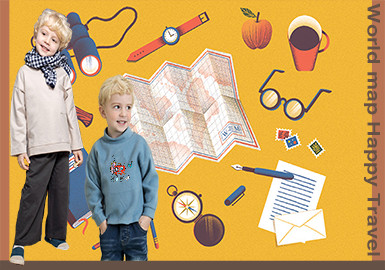 Happy Journey -- 20/21 A/W Pattern Trend for Kidswear