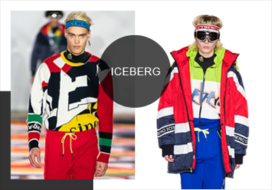 Iceberg -- Analysis of A/W 19/20 Catwalk Brands of Menswear