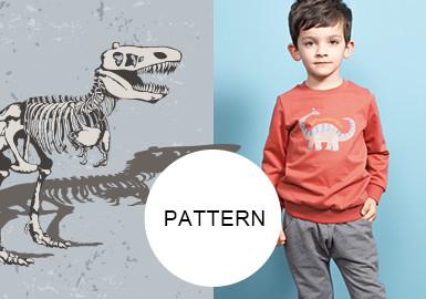Dinosaurs -- 20/21 A/W Pattern Trend for Kidswear