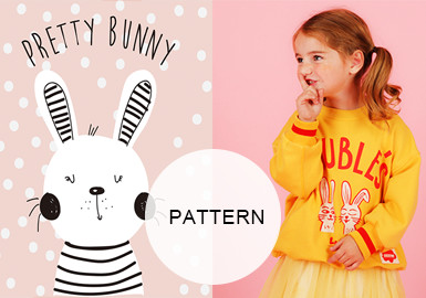 Sweet Rabbits -- 20/21 A/W Pattern Trend for Girl's Wear