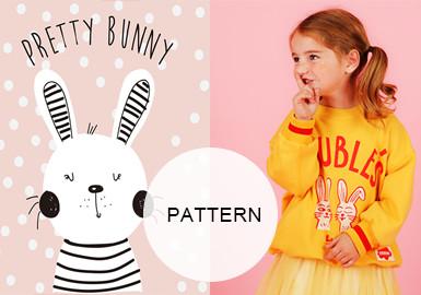 Sweet Rabbits -- 20/21 A/W Pattern Trend for Girl's Wear