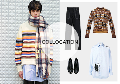 Tiered Matching -- 20/21 A/W Knitwear Matching for Menswear